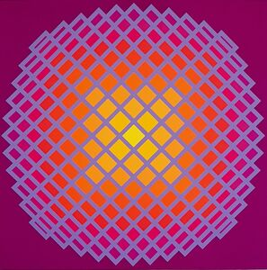 Yvaral, 'Quadrature IV', 1971