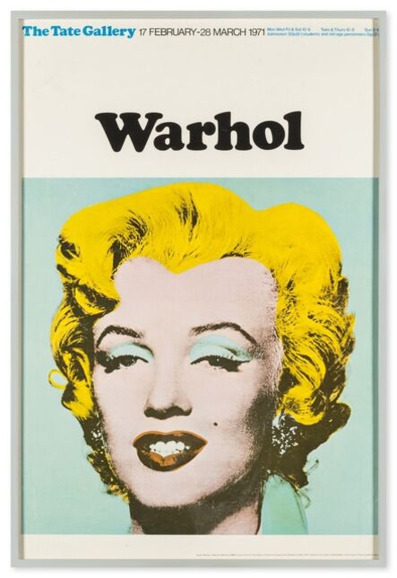 Andy Warhol, 'Poster for Tate Gallery', 1971