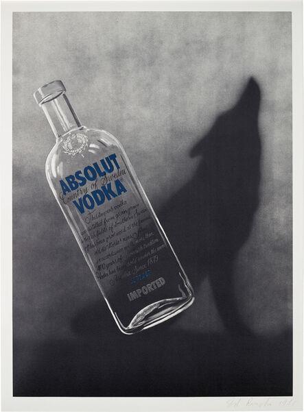 Ed Ruscha, 'Absolut', 1988