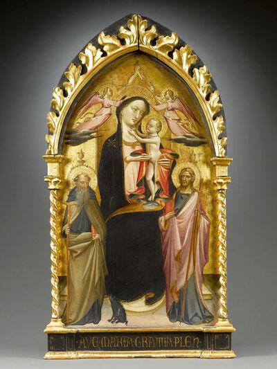 Giovanni di Marco, called Giovanni dal Ponte, 'Madonna with Child Enthroned', ca. 1420