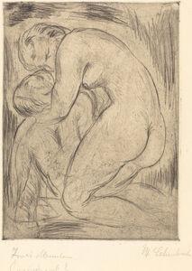 Wilhelm Lehmbruck, 'The Dead Man (Der tote Mann)', 1915