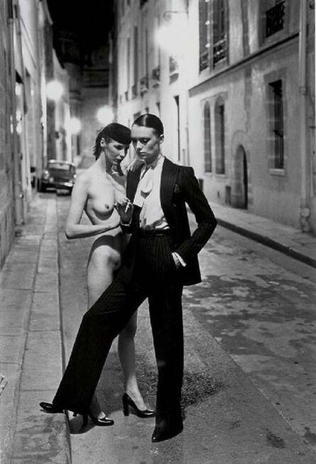 Helmut Newton, 'Rue Aubriot (Nude)', 1975