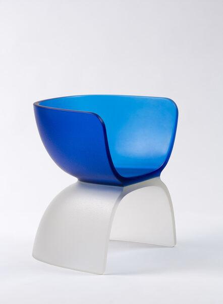 Marc Newson, 'Blue Glass Chair', 2017