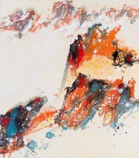 Hu Chi-Chung 胡奇中, 'Red Mountains', 1978