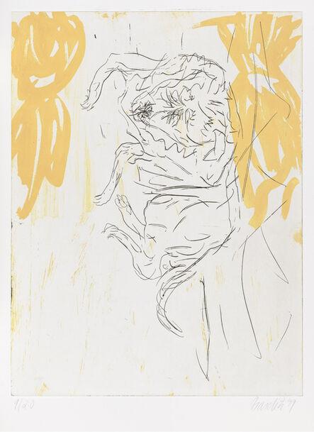 """Georg Baselitz, 'Leo, from """"Schlafende Hunde""""', 1998-1999"""