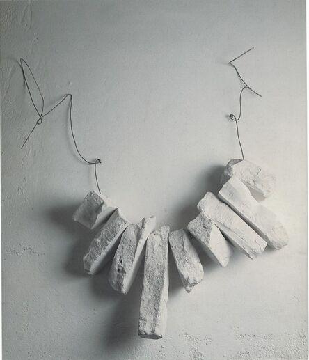 Paolo Icaro, 'A collana', 1985