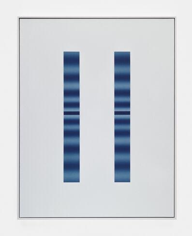 John Opera, 'Double Slit (Blue-Blue)', 2018