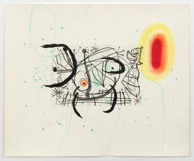 Joan Miró, 'Fissure 11', 1969