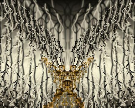 Jean-Claude Meynard, 'Arborescence of Deer 树形图·鹿', 2014