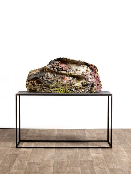 Franz West, 'Untitled (painted by Herbert Brandl)', 1986