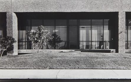 Lewis Baltz, 'New Industrial Parks #41: North Wall, General Offices, RB Furniture, 2323 Southeast Main Street, Santa Ana', 1974
