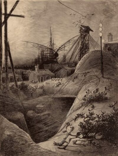 Henrique Alvim Correa, 'Wrecked London', 1906