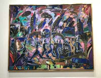 Carlos Almaraz, 'The Clock Said 3:00', 1989