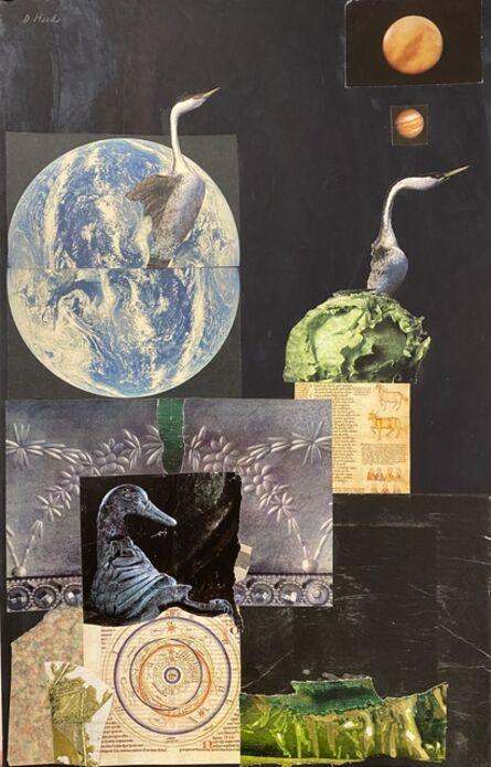 Dorothy Hood, 'Adventures of the Cormorants', ca. 1983