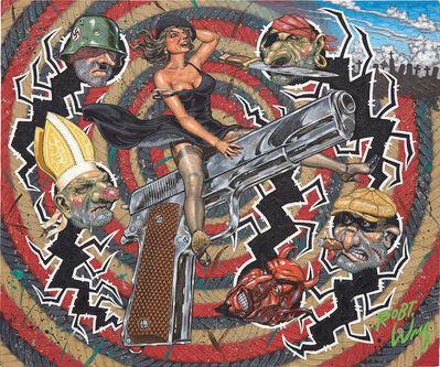 Robert Williams, 'Guns Don't Kill, Bullets Do', 1988