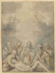 Polidoro Lanzani, 'Lamentation', 16th century