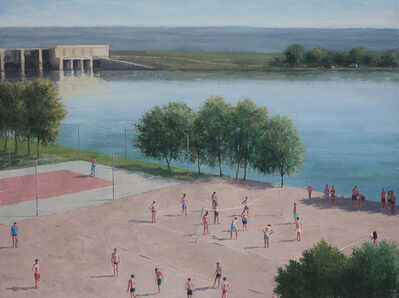 Serban Savu, 'Haze on the Dam', 2013