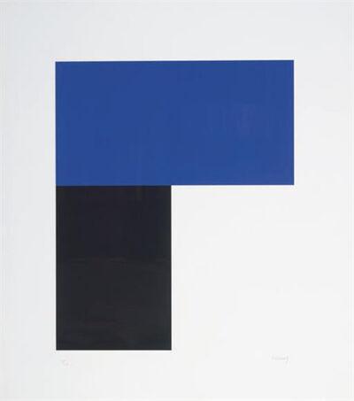 Ellsworth Kelly, 'Blue and Black I', 1972