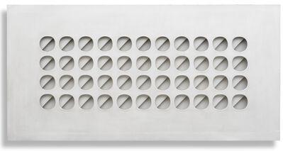 Paolo Scheggi, 'Intersuperficie curva bianca', 1966