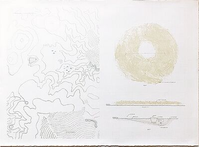 Robert Morris (b. 1931), 'Dust from Earth Projects', 1969