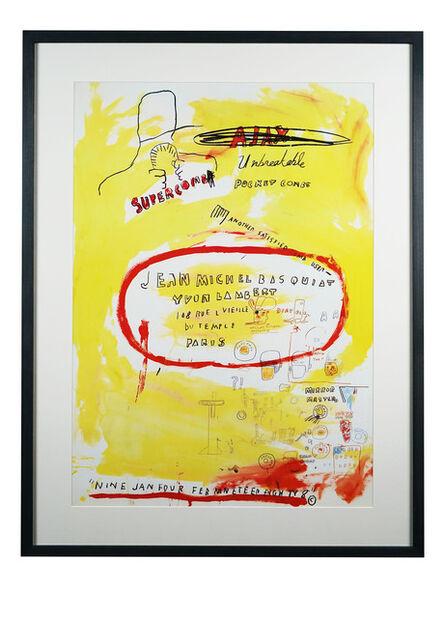 Jean-Michel Basquiat, 'Supercomb', 1985