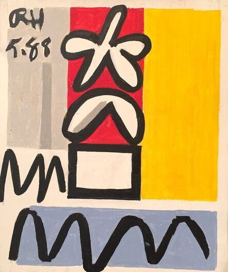 Raymond Hendler, 'Untitled (5.88)', 1988