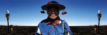 Antonio Briceño, 'Wirikuta, Dios del deseierto sagrado - Cultura Huichol', 2002