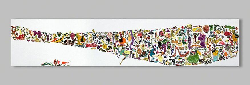 Melanie Rothschild, 'Guten Tags on White', 2014
