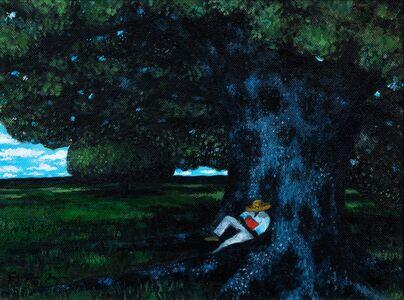 Jonathan Green, 'Young Man Sleeping', 2007