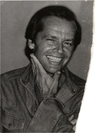 David Bailey, 'Uncharted – Jack Nicholson', 1976