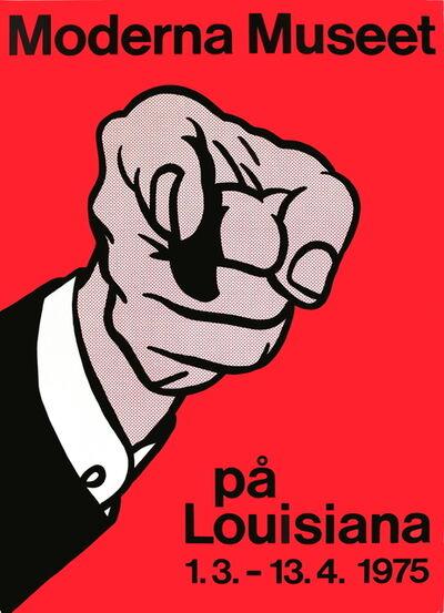 Roy Lichtenstein, 'Finger Pointing', 1975
