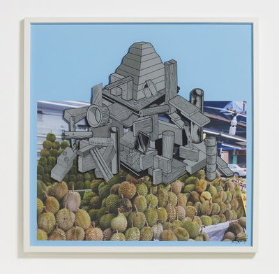 Teppei Kaneuji, 'Games, Dance and the Constructions (Singapore) #10-C', 2014