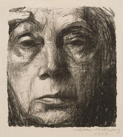 Käthe Kollwitz, 'Selbstbildnis (Self Portrait)', 1934