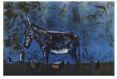 Senzo Shabangu, 'Potholes and Donkeys ', 2021