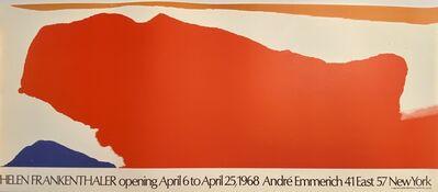 Helen Frankenthaler, 'Helen Frankenthaler, opening April 6 to April 25, 1968 Andre Emmerich 41 East 57 New York', 1968