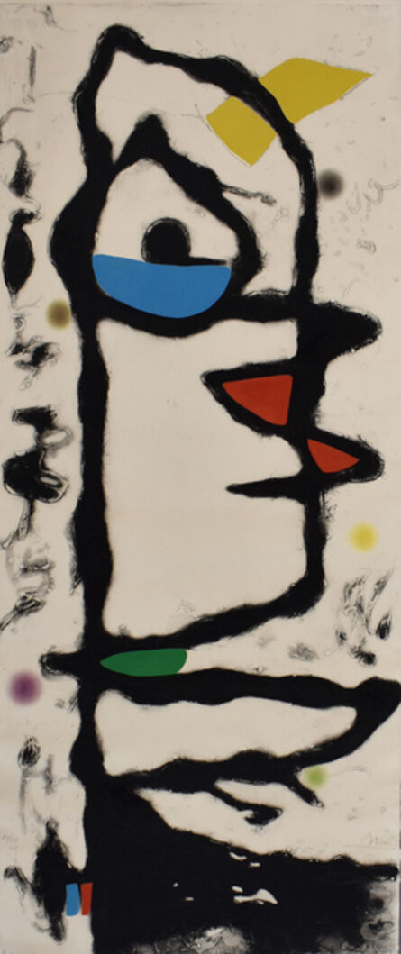 Joan Miró, 'Composition XIII, from: Barcelona', 1972