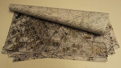 Atelier de Pinturas - Arte Digital, 'Lambe Lambe Indoor São Paulo Map', 2013