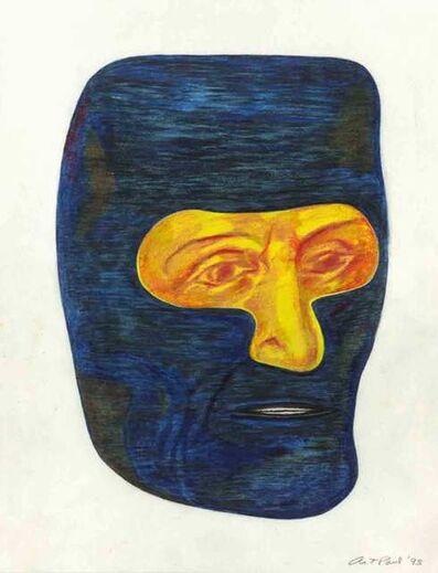 Art Paul, 'Head Study 59', 1993