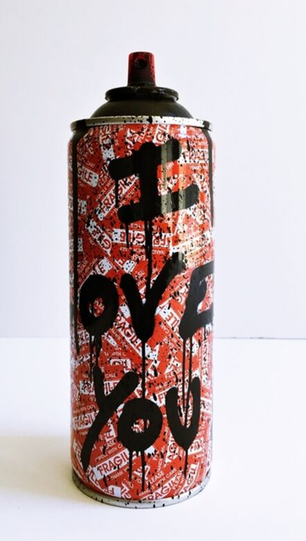 Mr. Brainwash, 'Can I Love You (Hand signed and numbered)', 2017