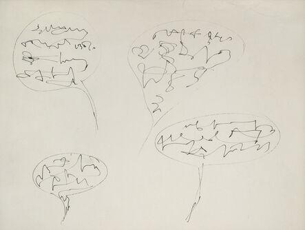 Gil J Wolman, 'La bande à Canson', 1962