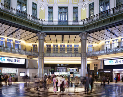 Matthew Pillsbury, 'Tokyo Train Station (TV14593)', 2014