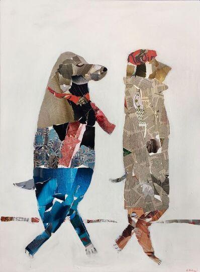 Helen Durant, 'A Winter Art Stroll', 2018