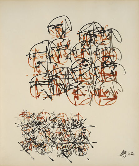 Brion Gysin, 'Sans titre', 1962