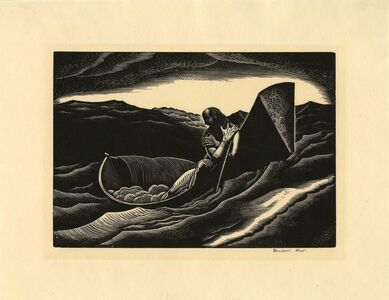 Rockwell Kent, 'The End.', 1927