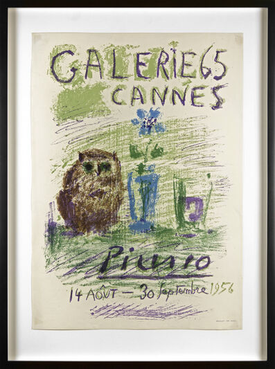 Pablo Picasso, 'Galerie Cannes', 1956