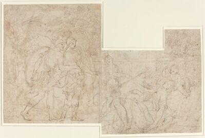 Nicolas-Raymond de La Fage, 'Three Soldiers Discovering a Sleeping Woman'