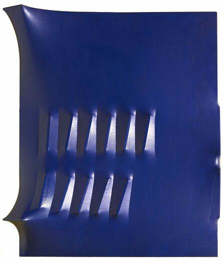 Agostino Bonalumi, 'Blue', 1972