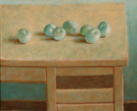 Jane Wilson (1924-2015), 'Seven Green Apples', 1981