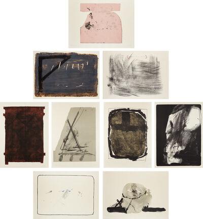 Antoni Tàpies, 'Album St. Gallen: nine plates', 1965