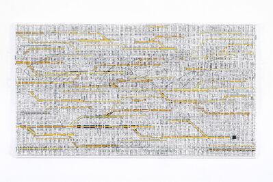 Katsumi Hayakawa, 'Traffic 1802 (yellow)', 2018